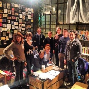 Mellow Pages Library Crew // From Fanzine