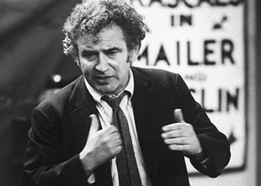 norman mailer doing something writerly or running for office