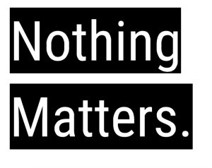 Nothing Matters-Cover